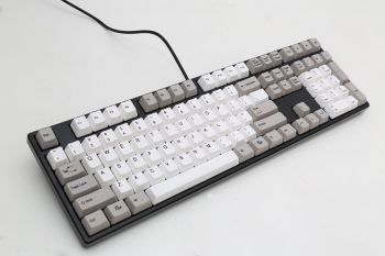 TECLADO DUCKY CHANNEL ONE KEYCAPS CINZA CHERRY BLACK DKON1608-AUSPHZBB5