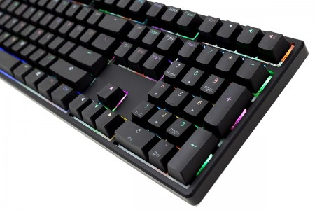 TECLADO DUCKY CHANNEL ONE RGB CHERRY RED DKON1708ST-RUSPDAAT1  - foto principal 1
