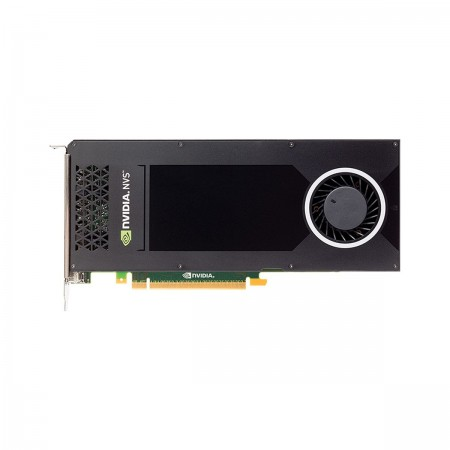 PLACA DE VIDEO PNY QUADRO NVS 810 4GB DDR3 128BITS DISPLAY PORT VCNVS810DVI-PORPB  - foto principal 1