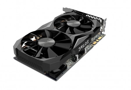 PLACA DE VIDEO ZOTAC GTX 1080 TI MINI 11GB GDDR5X 352BITS ZT-P10810G-10P  - foto principal 1