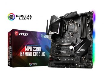 PLACA MAE MSI Z390 GAMING EDGE AC DDR4 USB3.1 M.2 ATX LGA 1151