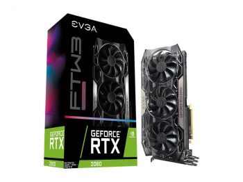 PLACA DE VIDEO EVGA RTX 2080 FTW3 ULTRA GAMING 8GB GDDR6 256BIT 08G-P4-2287-KR