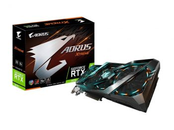 PLACA DE VIDEO GIGABYTE RTX 2070 XTREME 8GB GDDR6 256BIT GV-N2070AORUS X-8GC