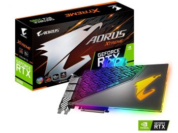 PLACA DE VIDEO GIGABYTE RTX 2080 XTREME WATERFORCE WB 8GB GDDR6 256BIT GV-N2080AORUSX WB-8GC