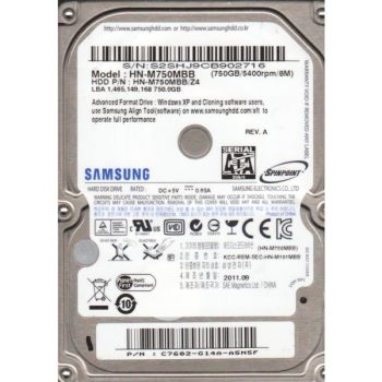HD SAMSUNG-HD NOTEBOOK 750GB S HN-M750MBB