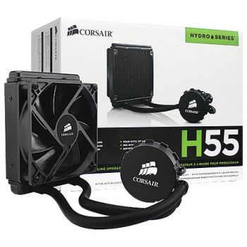 WATER COOLER CORSAIR H55 HYDRO SERIES CW-9060010-WW