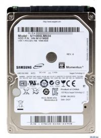 HD Notebook Sata 1TB SEAGATE