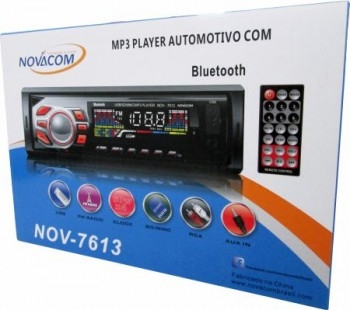 SOM AUTOMOTIVO MP3 PLAYER COM BLUETOOTH  - foto principal 3