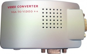 CONVERSOR PC-TV VGA PARA RCA / S-VIDEO