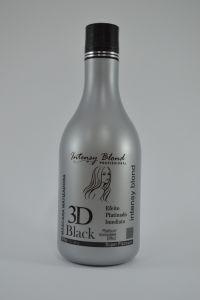 Máscara Matizadora Intensy Blond 3D Black 500g