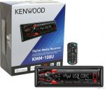 Media Receiver Kenwood Kmm-108u C/ Usb Frontal E Aux FrontaL  - foto 2