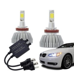 Kit Lâmpada Super LED Automotiva  H7 - 12V - 6000K - 30 Watts  - foto principal 1
