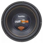 Subwoofer Bomber Outdoor 12 Pol 500w Rms 4 Ohms