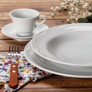 Cottage | Prato Fundo 20,5cm | Germer Porcelanas