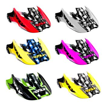 Pala Fly Racing para capacete Fly Kinetic Flash