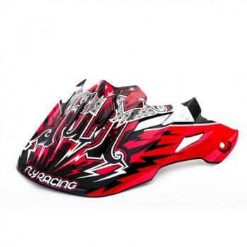 Pala Fly Racing para capacete Fly Trophy Lite