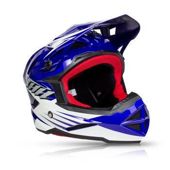 Capacete Bike Full Face Downhill THH T-42 #2 - Azul