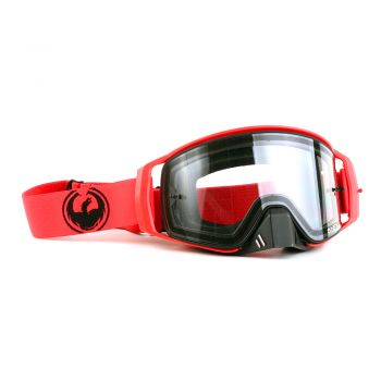 Óculos Dragon NFX2 Red - Lente Transparente + Tear Off Pack + Lens Shield