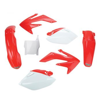 Kit Plástico UFO CRF 250 06/07 (Original) Com Number Frontal