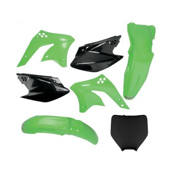 Kit Plástico UFO KXF 250 06/08 (Cor Original de 2008) Com Number Frontal​