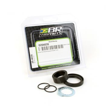 Retentor Do Pinhão + Bucha BR Parts Crf 450 02/15 + Crf 450x 05/15 + Cr 250 88/07
