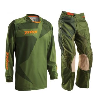 Conjunto Calça + Camisa Thor Phase 16 Offroad