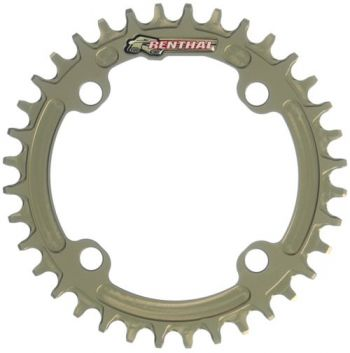 Coroa Renthal Bike 1XR 94MM (SRAM PATTERN) Retaining Chainring