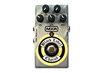 Pedal MXR Black Label Chorus ZW38