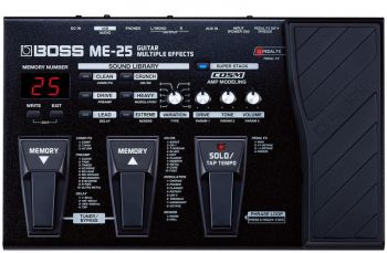 Pedaleira Boss Guitar Multiple Effects ME-25