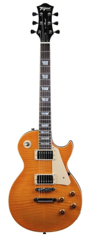 Guitarra Tagima TLP FLAMED c/case