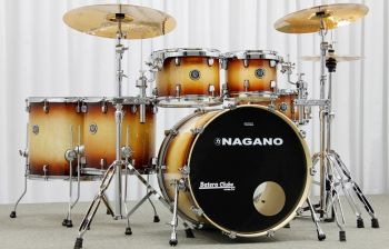 Bateria Nagano Concert full lacquer