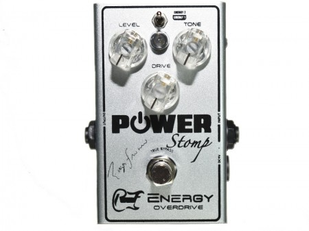 Pedal Power Stomp® Energy Overdrive Signature Roger Franco  - foto principal 2