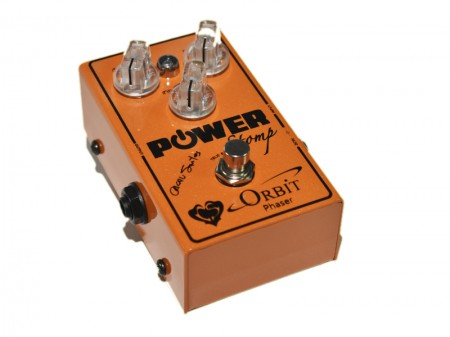 Pedal Power Stomp® Orbit Phaser Signature Cacau Santos  - foto principal 1