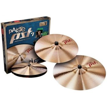 Kit Paiste PST 7 Heavy Set 14'' 16'' 20''