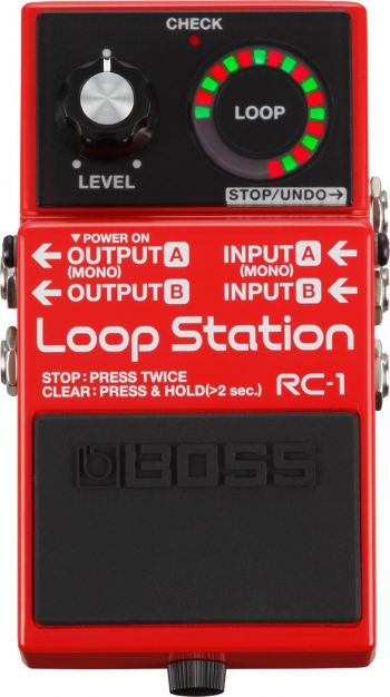 Pedal Boss Loop Station RC-1
