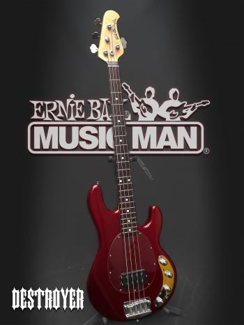Contra Baixo Ernie Ball Music Man Stingray 4C - Usado