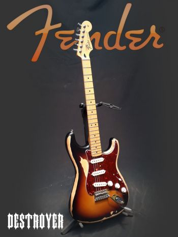 Guitarra Fender México C/Trio Noiseless - Usada