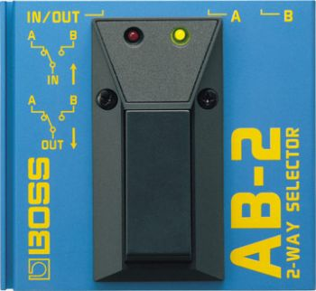 Pedal Boss 2-Way Selector AB-2