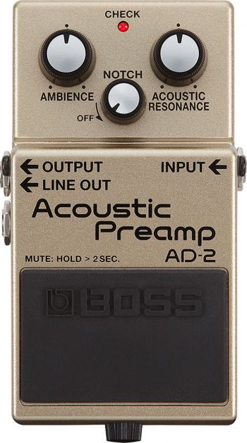 Pedal Boss Acoustic Preamp AD-2