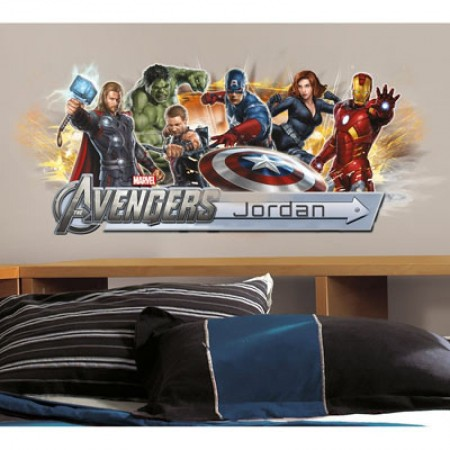 RoomMates Captain Marvel Peel And Stick Giant Wall Decals