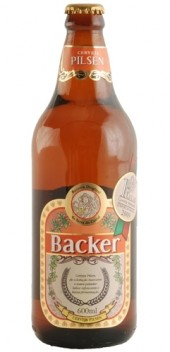 Cerveja Backer Pilsen - 600ml