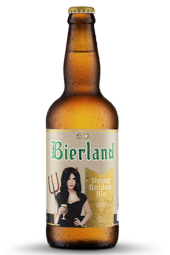 Cerveja Bierland Strong Golden Ale - 600ml