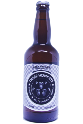 Cerveja Three Monkeys India White Ale - 500ml