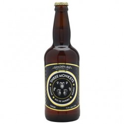 Cerveja Three Monkeys Golden Ale - 500ml  - foto principal 1