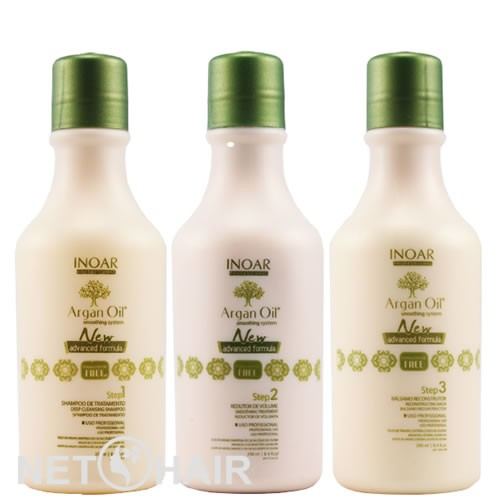 Inoar Argan Oil System - Escova de Argan (3 x 250ml)