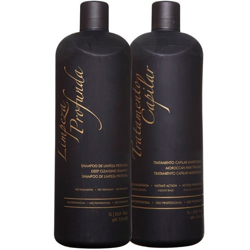 Ghair Escova Progressiva Marroquina - 2 x 1 litro cada