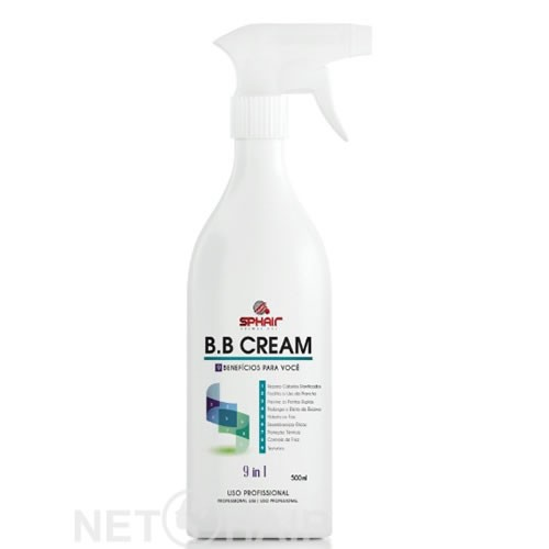 SpHair BB Cream 9 em 1 - 500ml