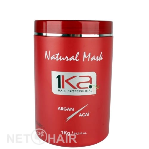 1Ka Máscara Natural Argan - 1kg  - foto 1