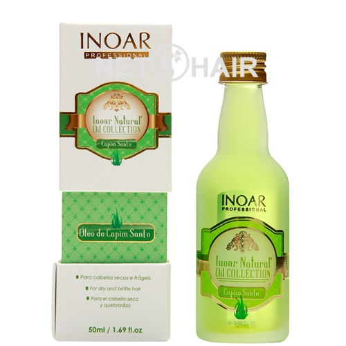 Inoar Natural Oil Collection Óleo De Capim Santo - 50ml  - foto principal 1