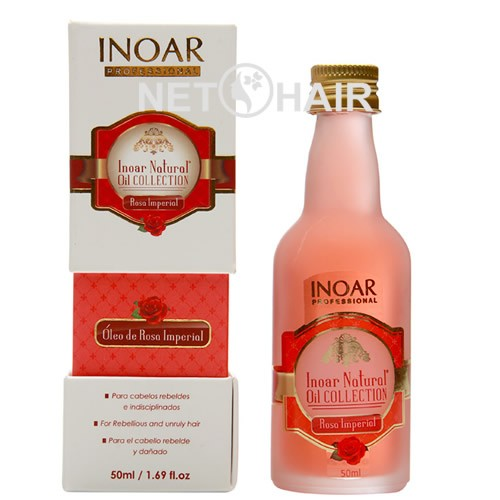 Inoar Natural Oil Collection Óleo De Rosa Imperial - 50ml